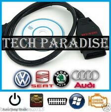 Interface Valise diagnostic VW HEX+K+CAN COM OBDII USB VAG 12.12 Full Command