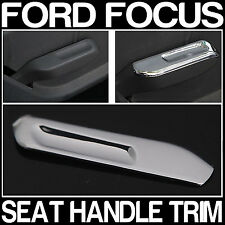 Ford FOCUS Mark 2 Mk II Seat Handle Pull Chrome Trim Modification 2 Pieces