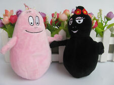 Set of 2 Barbapapa and Barbamama Plush Doll Toy NEW