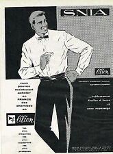 PUBLICITE ADVERTISING 014   1960   LILION   chemises homme