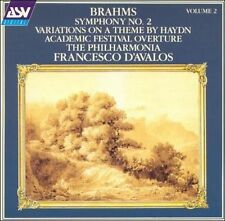 Brahms: Symphony No. 2; Variations on a Theme by Haydn; Academic Festival Over.