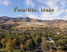 Idaho - POCATELLO - Flexible Travel Souvenir Fridge Magnet