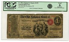 C8358- Original $1 National, The Old National Bank Of Providence, Ri - Pcgs G6