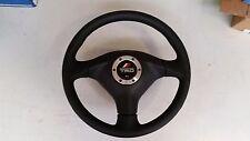 Genuine TRD black leather SRS airbag Supra JZA80 / MK4 steering wheel JDM
