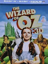 The Wizard of Oz STEELBOOK (Blu-ray 2013, 3D/2D Includes Digital Copy) - NEW!!