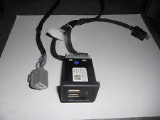 Corvette C7 Center Console USB SD Card Audio Input Jacks '15