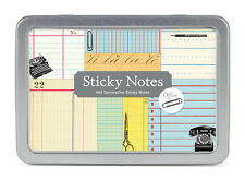 Cavallini & Co. Office Sticky Note Set / Decorative Post its