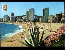 PLAYA DE ARO (ESPAGNE) HOTELS & RESIDENCES à la PLAGE animée en 1974