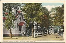 Thornley Chapel on Pilgrim's Pathway in Ocean Grove NJ Postcard