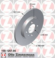 BMW E30 3 SERIES PAIR OF ZIMMERMANN FRONT BRAKE DISCS (34111154747)