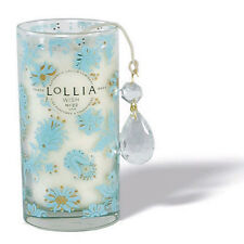 Lollia Wish Petite Luminary Soy Wax Blend Candle Warm Vanilla Bean