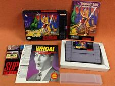 Dragon's Lair Super Nintendo SNES Super Fast FREE SHIP Complete CIB!