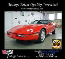 Chevrolet: Corvette 2dr Coupe Ha