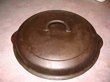 Griswold Cast Iron Skillet cover small Block Logo  1100 NO.10 LID