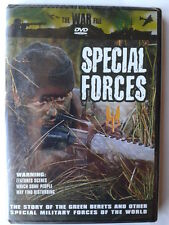 SPECIAL FORCES (BRAND NEW SEALED ALL REGION DVD) GREEN BERETS