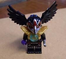 Lego Legends of Chima - Razar Figur Vogel schwarz mit Rüstung Armor gold Neu