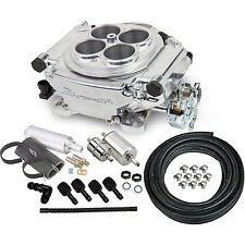 Holley 550-510K Sniper EFI Master Kit Sniper Self-Tuning Shiny Throttle Body 3.5