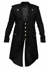 Men's Steam Punk Tailcoat Jacket Gothic Victorian Coat trench Coat