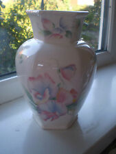Aynsley Little Sweetheart Vase 19 cm Tall 1st Quality Bone China Pink British