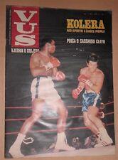 Muhammad Ali Cassius Clay VUS magazine Yugoslavia 1970 Communist era MEGA RARE