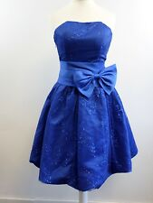 Maner Cocktail Prom Dress - Blue - Small - Box6207 H