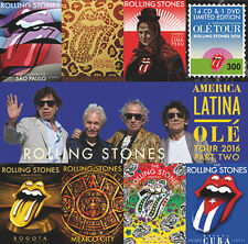 ROLLING STONES BOX RARE America Latina OLE Tour 2016 Part 2 MEXICO 14CDS+1DVD