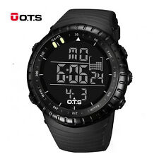 Digital Mens Watch Stainless Steel Analog Quartz Sport Military Wristwatches New