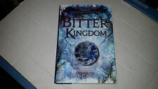 The Bitter Kingdom by Rae Carson (2013, Hardcover) SIGNED & DATED 1st/1st