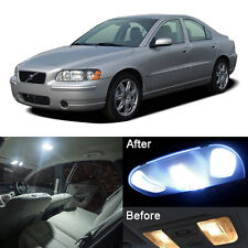 Premium White LED Full Interior Light Kit For Volvo S80 Sedan 1999-2006 (19pcs)
