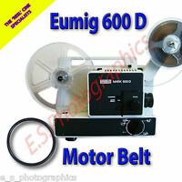 EUMIG Mark 600D 8mm Cine Projector Belt (Main Motor Belt)