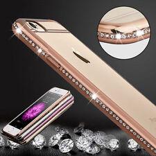 Bumper Diamond Bling Glitter ShockProof Soft Gel Case Cover For Mobile Phone