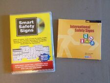 NEW Smart Safety Signs CD + FREE International Safety Sign CD - Vinyl Cutter