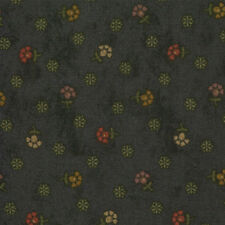 Kansas Troubles Favorites Moda Quilt Fabric 1/2 yard   9184 14 Navy Floral