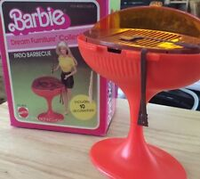 Vintage Barbie Dream Furniture Collection Patio Barbecue in original box 1982