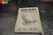 Harley= Factory Service Manual 1984-1990 FLT/FXR Models