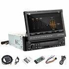 """In-Dash 7"""" Flip-Out Touch screen DVD/MP3/USB Car Stereo Radio Player FM 1Din"""