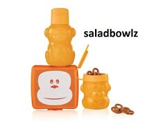 TUPPERWARE New MONKEYING LUNCH SET with Max Monkey Bottle & Snack Cup fREEsHIP!