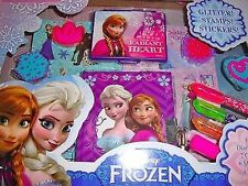 Disney Frozen Elsa And Anna Diary Gift Tote-diary gift tote,diary,gel pens,&more
