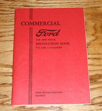 1933 Ford Car & Truck Owners Manual Instruction Book V-8 & 4 Cylinder 33