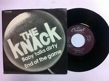 45 GIRI  THE KNACK END OF THE GAME/BABY TALKS DIRTY  NUOVO D'EPOCA