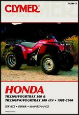 CLYMER SERVICE REPAIR MANUAL HONDA TRX300 TRX300FW FOURTRAX 1996 1997 98 99 2000
