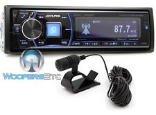 OPEN BOX ALPINE CDE-HD149BT CD MP3 USB AUX BLUETOOTH 200W AMPLIFIER HD RADIO