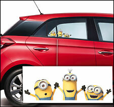 Minions M3 Amovible Wall Stickers Decal Decor Autocollants Voiture Auto