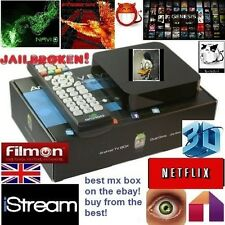 Latest Android TV Box MX QuadCore XBMC KODI SHOWBOX MOBDRO XXX SPORTS LOADED!