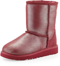 UGG Australia Girls Kids Youth Size 5 Classic Glitter Boot