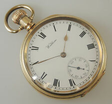 16 Size 19 Jewel Waltham RIVERSIDE Pocket Watch c1905