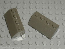 LEGO OldDkGray Slope Bricks ref 3037 / Set 4728 7151 4730 7140 7142 4483 7181...