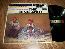 RODGERS AND HAMMERSTEIN~ THE KING AND I ~ DECCA DL-79008