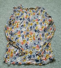 BODEN LADIES FABULOUS LONG SLEEVED FLORAL. UK Size 14. EXCELLENT CONDITION WA541