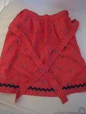 red, white, & blue sailboat apron, NWOT